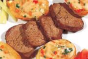Sviečkovicový lángoš so zemiakmi a la Cafe de Paris 200g