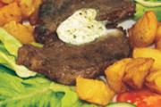 Sviečkovica s okoreneným maslom a kúskom husacej pečienky 200g